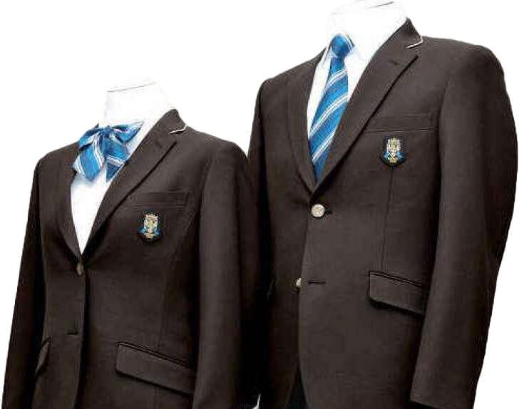 金光八尾中学校の新しい制服
