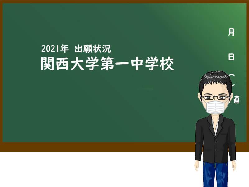 2021年 関西大学第一中学校 出願状況